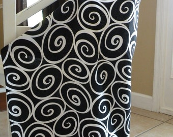 Beautiful Nursing Cover-Black Ironwork-FREE SHIPPING when purchased with a wrap