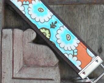 READY TO SHIP-Beautiful Key Fob/Keychain/Wristlet-Wallpaper