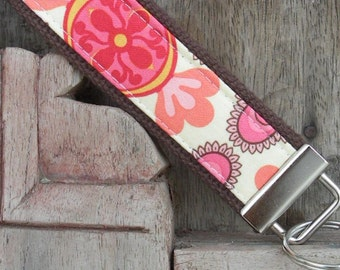 READY TO SHIP-Beautiful Key Fob/Keychain/Wristlet-Arden-1
