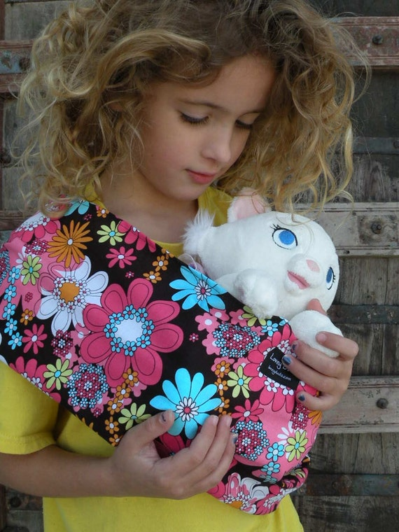 Ready To Ship-Just Like Mommy Baby Doll Sling-Britt-Free Shipping When Purchased With A Wrap