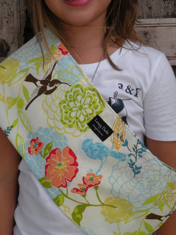 Doll Sling-READY TO SHIP-Just Like Mommy Baby Doll Sling- Spring Fling-Free Shipping When Purchased With A Wrap