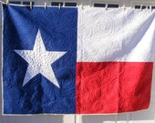Texas Flag Quilt - Medium Sized