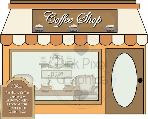 Items similar to Buy 1 Get 1 Free Coffee Boutique Shop ...