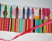 Dotty Crayon Roll
