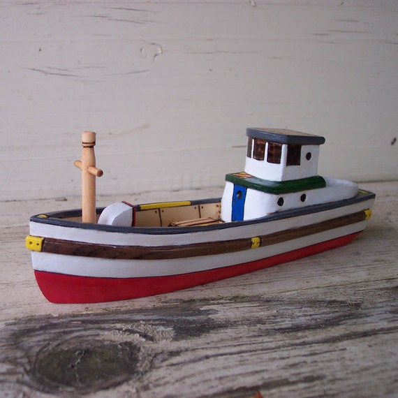 Schooner Toy Wooden Boat
