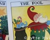 10 Tarot Christmas cards