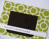 Green With Envy Birthday Card