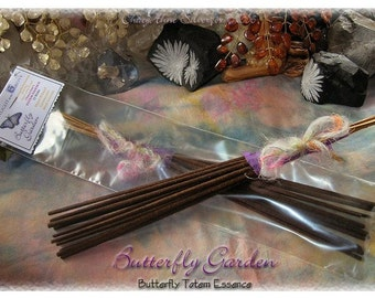 BUTTERFLY GARDEN Totem Ceremonial Stick Incense 12 pk