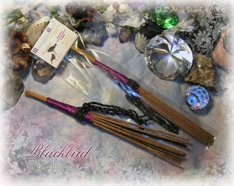 BLACKBIRD Totem Ceremonial Stick Incense 12 pk