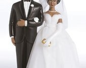 Ethnic Bride and Groom Cake Topper