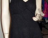 CLEARANCE: Flirty and Flouncy BEADED Slip Dress - So Timeless & Chic