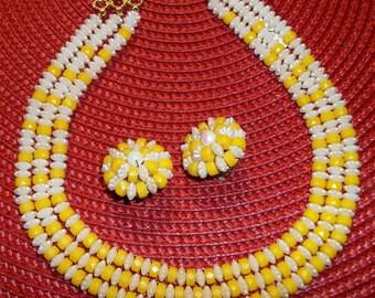 CHIC 3 - Strand VINTAGE Necklace Set