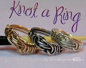 Wire Knot a Ring, All Wire Ring, Jewelry Tutorial, Instant Download PDF File