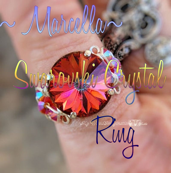Wire Wrap Ring Tutorial, Wire Wrapping, Marcella Crystal Ring, DIY, How to Make a Wire Wrapped Ring, Tutorial, PDF Instructions, Digital PDF