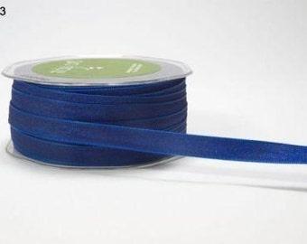 Two Toned Royal Blue  Ribbon - Blue Ribbon - May Arts Two Tone Navy/Royal Blue  Ribbon 2 yds