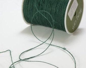Green Burlap Twine -Green Burlap String 10yds - Green sting