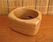 Recycled Wood Bangle - Size X-Small