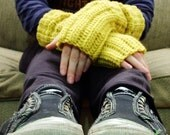 Super EASY Unisex Grunge Gloves PDF Crochet Pattern