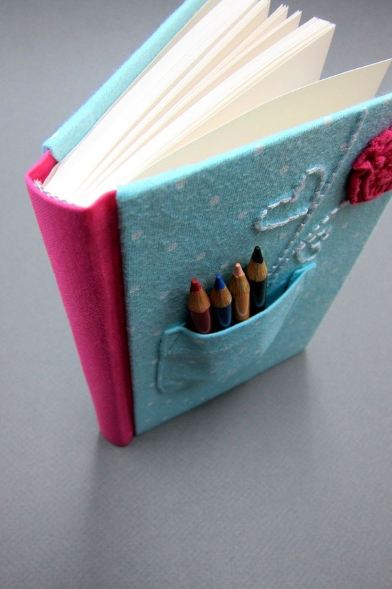 Kid's Journal with Pencils