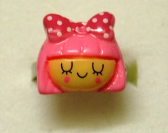 Cute Little Girl Ring--adjustable