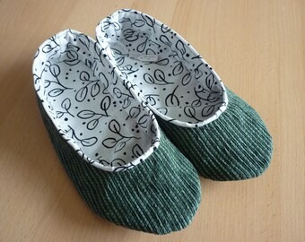 Handmade House Shoes - Size 5