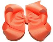 Baby Headband Bow - Toddler Headband Bow - 80 Color Choices - Headband Bow or Clip Bow - Baby Bow - Toddler Bow - Classic Grosgrain Bow