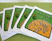 Printable Nature Walk Coloring Book