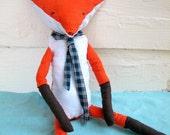 Mr. Fox Plush Pattern