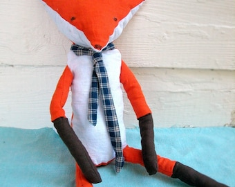 Mr. Fox Plush Pattern