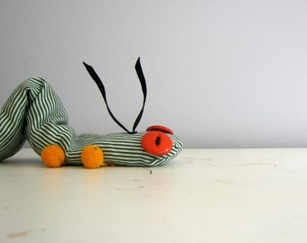 Inchworm Plush Pattern