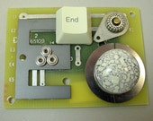 RECYCLED CIRCUIT BOARD Geekery Magnet End Waste
