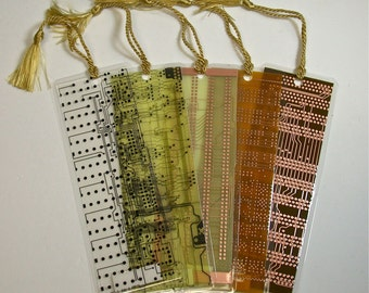 RESERVE NOEL Circuit Board Geek Bookmarks pkg 3