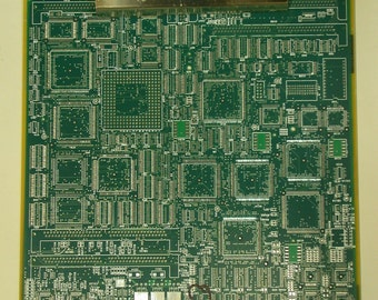 Recycled Circuit Board LARGE CLIPBOARD Repurposed Geekery lc5