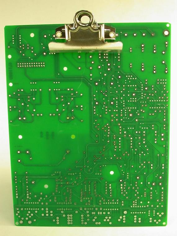 Recycled Computer Circuit Board Medium Clipboard GEEKERY MC-5
