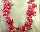 Tropical Punch Blister Freshwater Pearls  N-031
