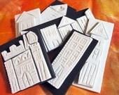Hand Carved Stamps- Neighborhood