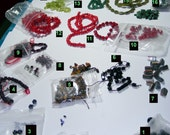 DESTASH- More Gemstones beads LOT