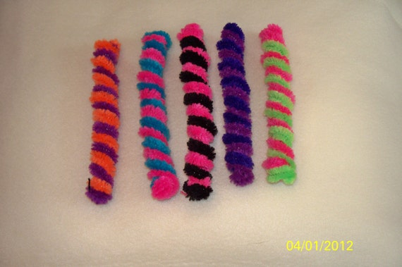 Willow's Plush Worms - Pipe cleaner cat toys - Limited Edition