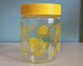Vintage Corning Ware Glass Canister