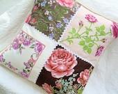 "Vintage Handkerchief Pillow Sham 22"""