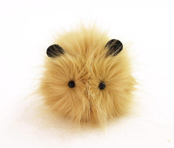 Reserved for Beth Goldie the Small Gold Guinea Pig Plushie
