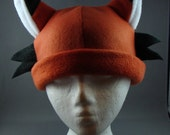 Fox Fleece Hat Cosplay Anime Skiing Snowboarding Gothic Rave Punk Winter CUTE