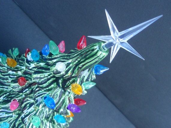 Vintage Style Lighted Christmas Tree - Made to order in 4 different sizes!