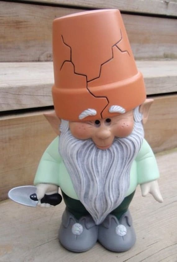 Reserved listing for Rita  Mr. spades-Garden Gnome