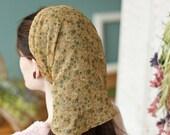 long Wildflower Chiffon headwrap headcovering scarf head hair scarf covering