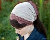 creamy Cappucinno headband lovely coffee colored hair accessory. garlands of grace fall 2011