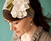 Everyday Magnolias in Heather - Garlands of Grace Something special headband 2012