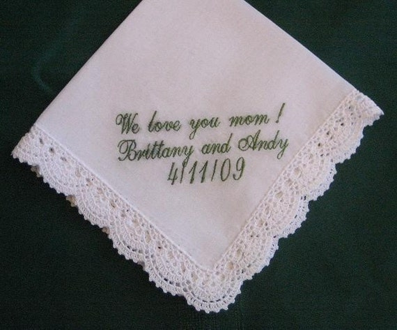 Ladies Bridal Hanky with Gift Box 34S