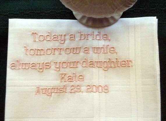 ... Wedding Handkerchiefs for Father of the Bride with Gift Box 49B