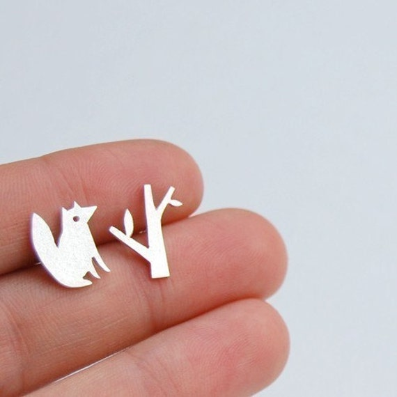 Tiny Fox and Forest Studs